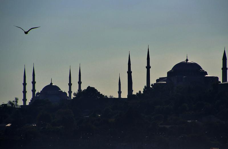 Blue Mosque and Haghia Sophia