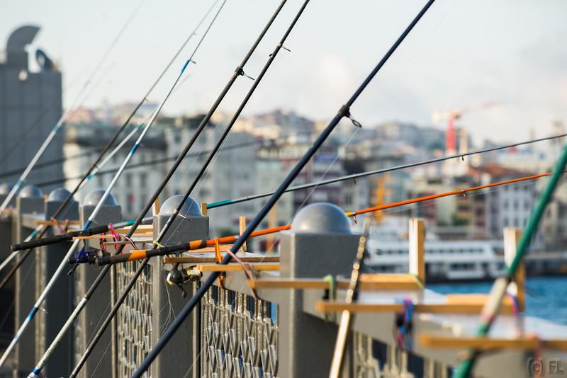 Fishing on the Bosphorus