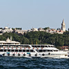 Ferry with Topkapi Palace in the background