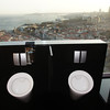 Urinals with a view: The bathroom just off the rooftop bar/restaurant at the Conrad Hilton, featuring the best view in Istanbul.