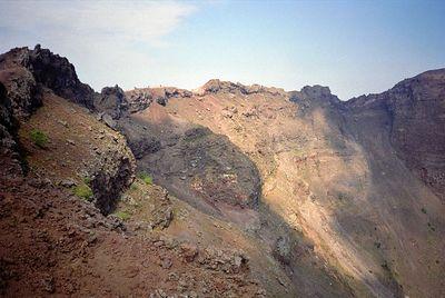 Vesuvio volcano