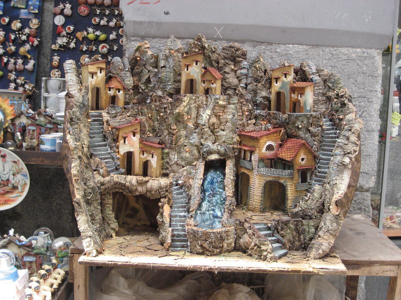 Christmas creche for sale, Naples