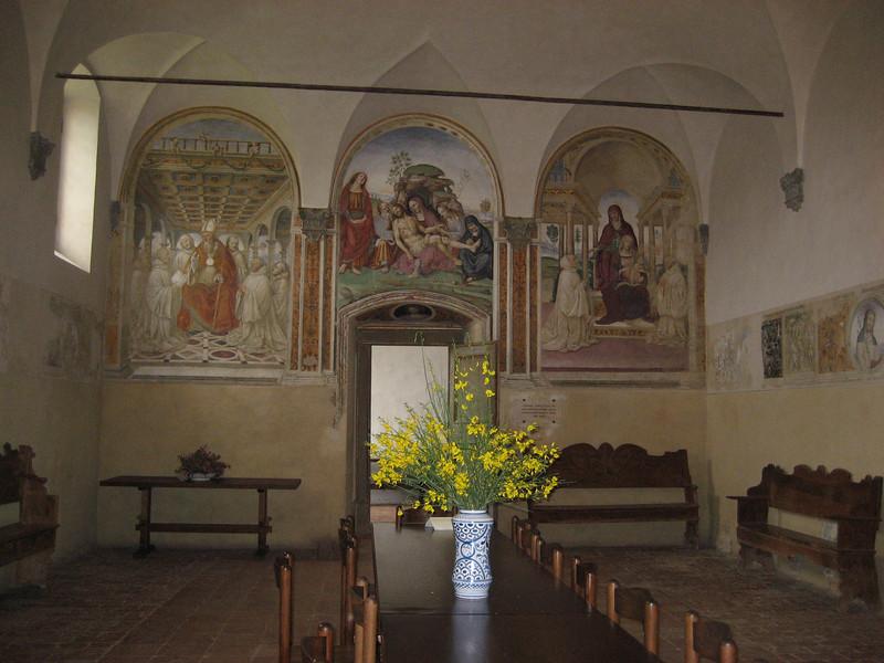 Sant'Anna in Camprena, refectory