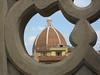 Art shot from the Uffizi terrace, the duomo, Florence