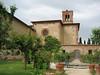 """Sant'Anna in Camprena, near Pienza, """"The English Patient"""" church"""