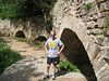 Recently excavated Roman aqueduct above Spello -- Go Blue.
