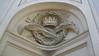 Detail, interior, Sant' Ivo, Rome