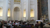 Sunday mass, Sant'Ivo, Rome