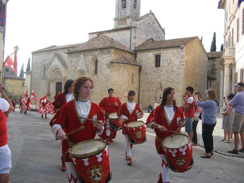 Quartiere Castello celebration, San Quirico