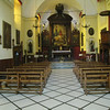 Monterosso - this is the interior of the Church of San Giovanni Battista.