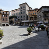 "Cortona - Piazza della Repubblica.  This is where the Andre Rieu ""Tuscany"" concert was held a few years ago."