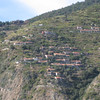 Cinque Terrre - this is one of several mountain side communities I saw during the boat trip between Monterosso and Porto Venere.  It must have been somewhat challenging to build houses in this location.  I'm not sure how they access them as I wasn't able to see any roads.