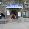 Monterosso - the booth for Ferry tickets.  There are also WC's located nearby.