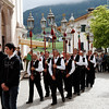 Castelrotto - this is another one of the processions that accompanied the marching band.