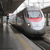 Travel from Bolzano to Cortona - this is one of the Freccia (fast) trains, which at times can reach speeds of 300 kmH.
