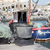 Cinque Terre / Porto Venere - one of the local fishing boats, with Nets and other gear ready to go.
