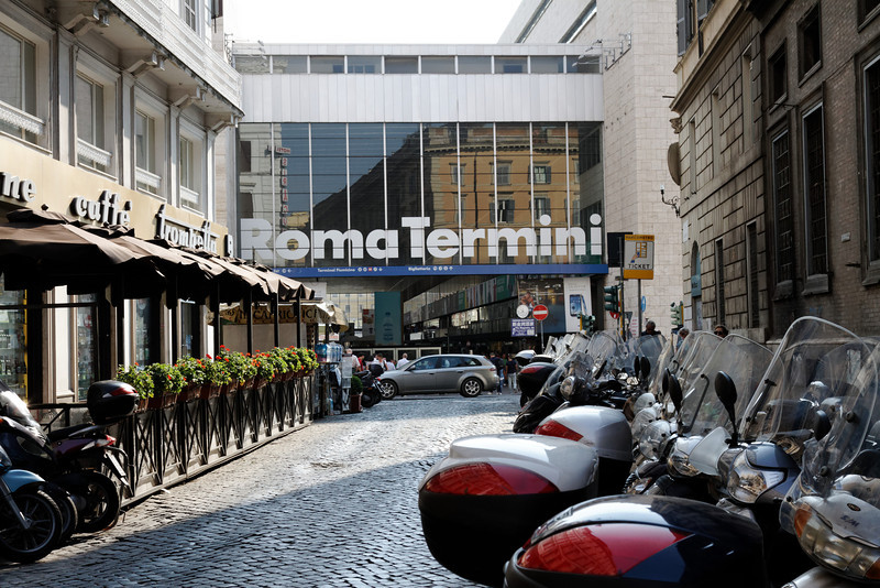 Rome - this is the classic view of Termini station that's always a reminder for me that I am in fact IN ROME.