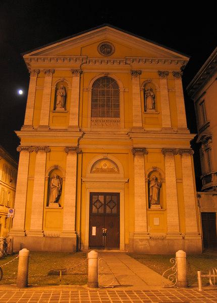 Church Santa Maria Madalena (or SM in Istrada), in Monza, built app 1600