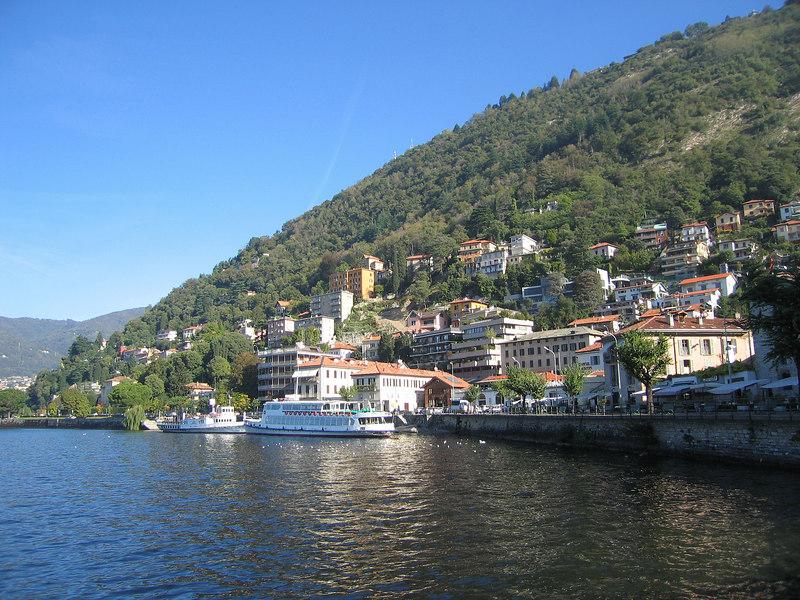 Lago di Como - hillside