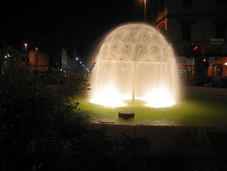 Fountain in Monza