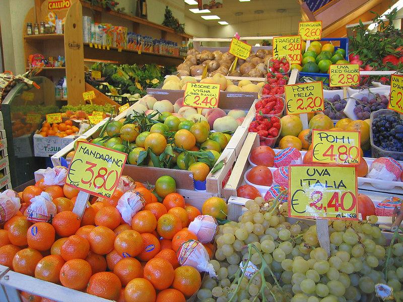 Produce, Siena