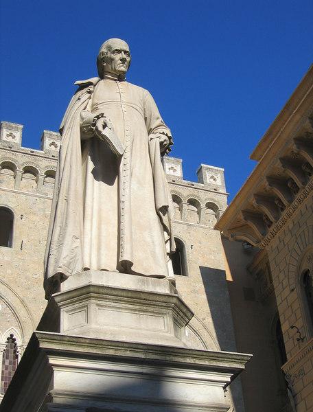 00aFavorite Statue in Piazza Salimbeni