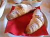 Croissants, Country House Montali (bit out of focus)