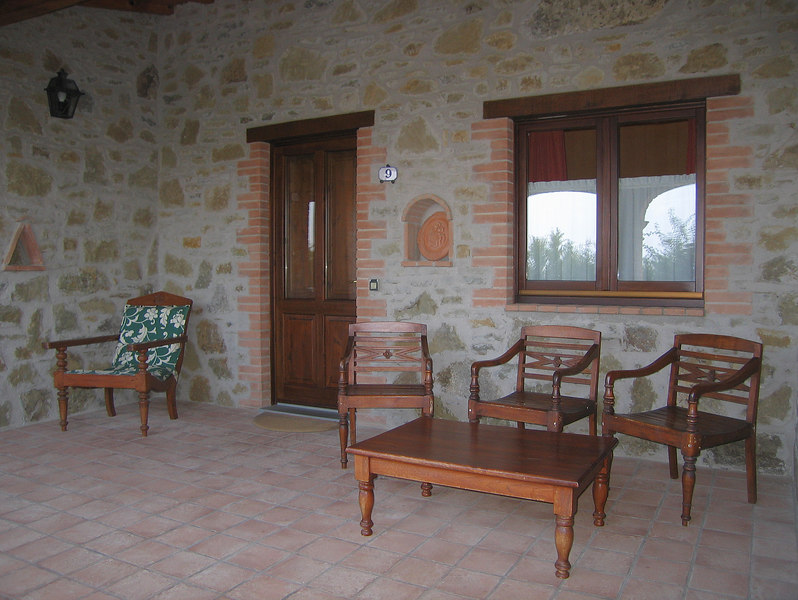 Our porch, Country House Montali