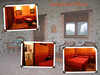 Our room, Country House Montali, with porch in dimmed bg image [4 pix, edgecorners frame, text]