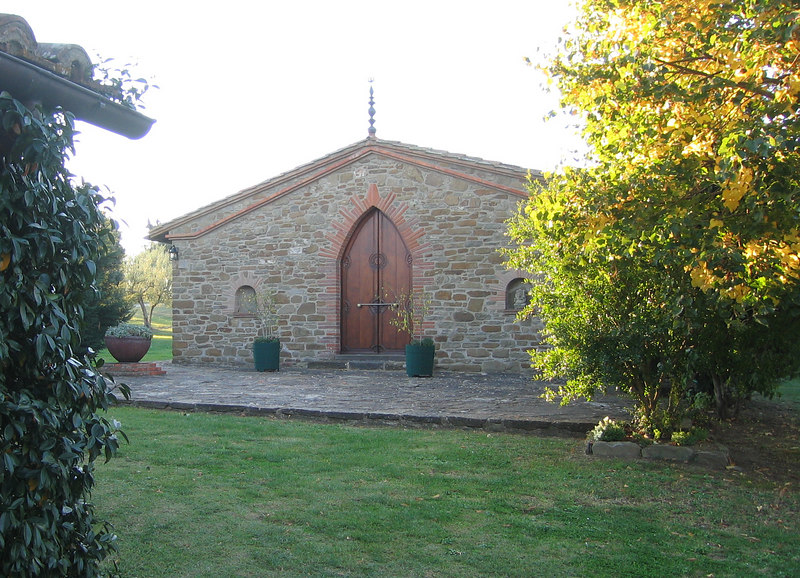 Temple at Country House Montali