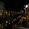 The Canal area at night!