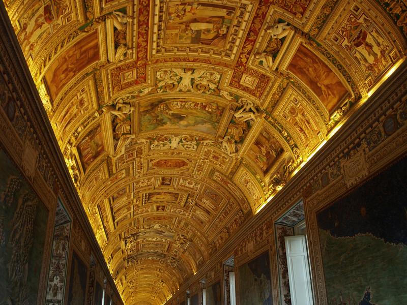 Pasillo del Museo Vaticano