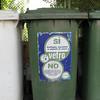 Recycling in Italia.