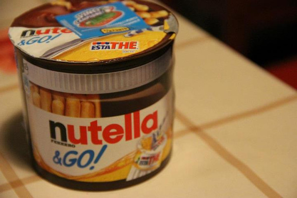 Nutella and go? WHy have I never seen this in the states?!?