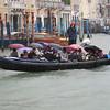 Japanese tourists in rainy Venice