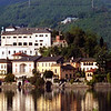 The Island of San Giulio in Lake Orta