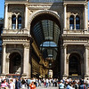 We started in Milan and had a Sunday morning visit to the Galleria before we met up with the group.