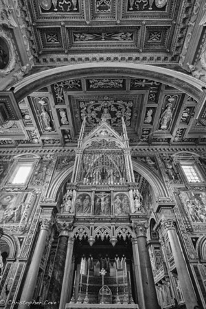 Alter of Papal Archbasilica of St. John Lateran