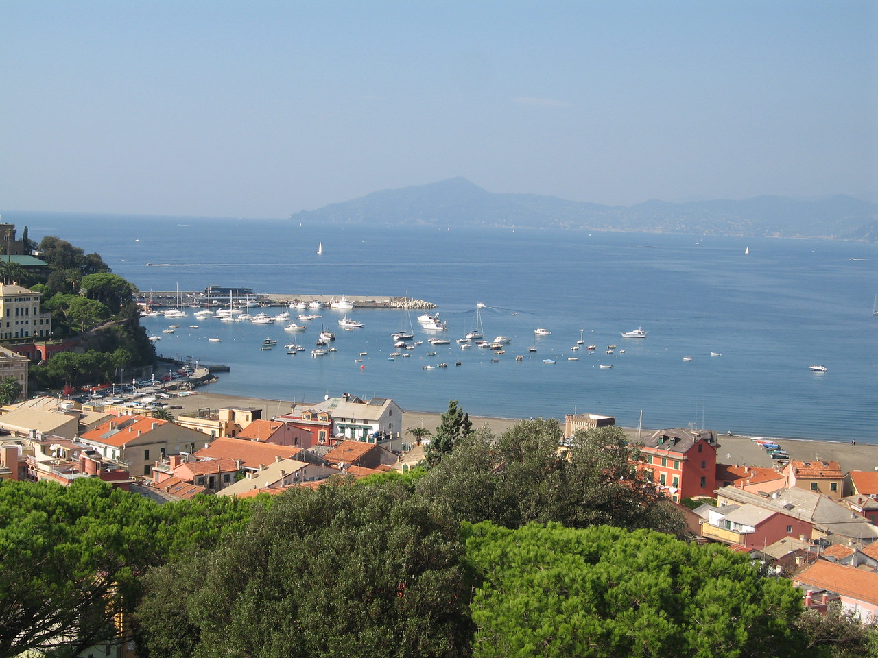 View of Bay of Fables from Hotel Vis a' Vis