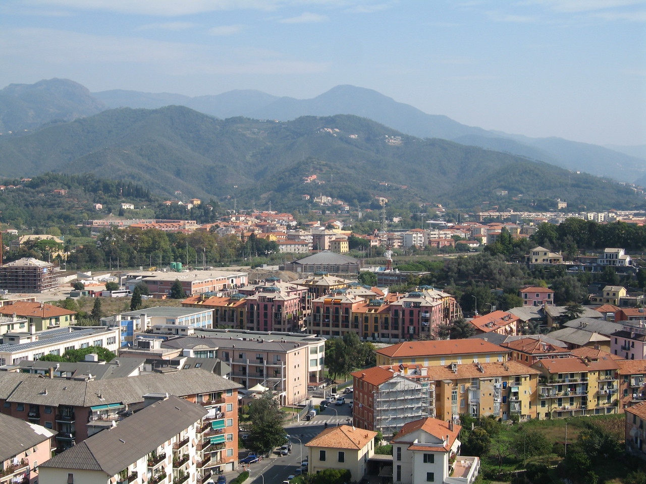 View of Sestri Levante City from Hotel Vis a' Vis