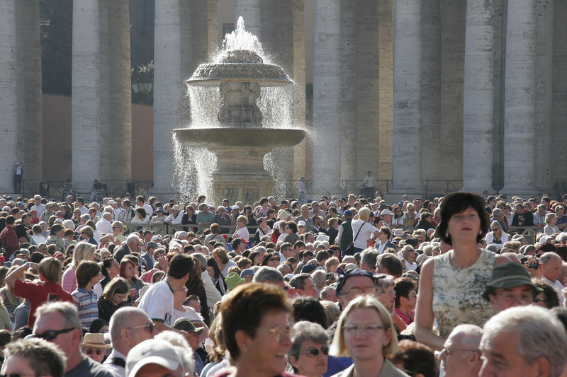 At the Papal Audience