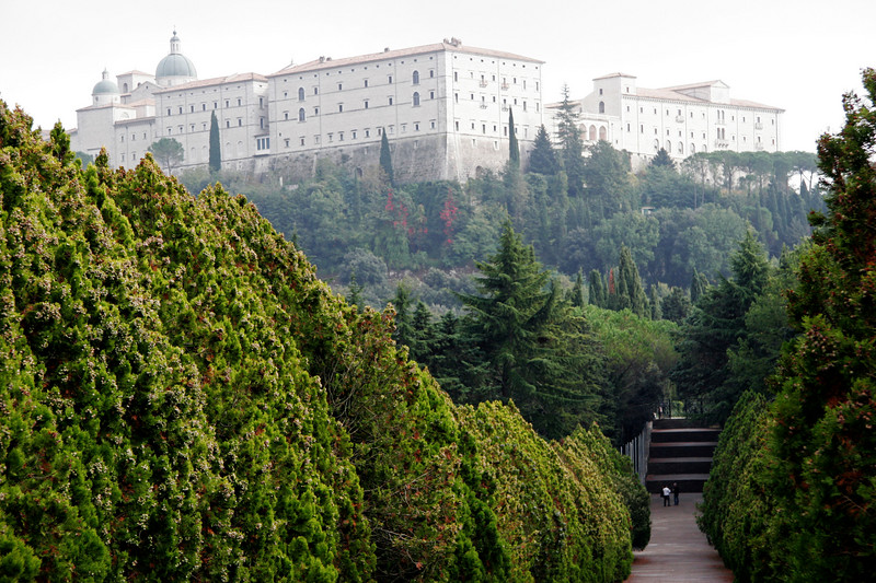 Montecassino from Polish Cemetery