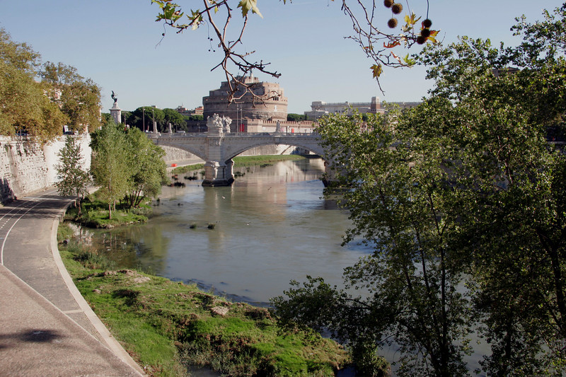 Tiber with Castel Sant'Angelo