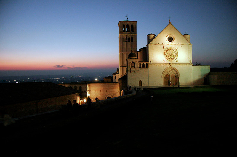 Church of San Francesco at Dusk