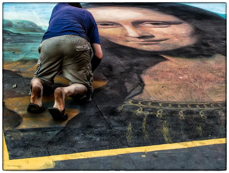 ~Mona Lisa~<br /> <br /> Rome Street Artist