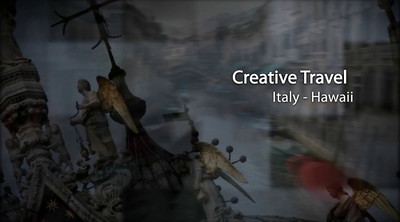 Creative Travel Photo Show of Rome, Venice, Florence, Pisa, Italy & Oahu, Hawaii  Click Arrow to Play Show