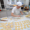 Making pasta and pastries at the villa near Lucca where we joined daughter Pamela and her husband for a few days.