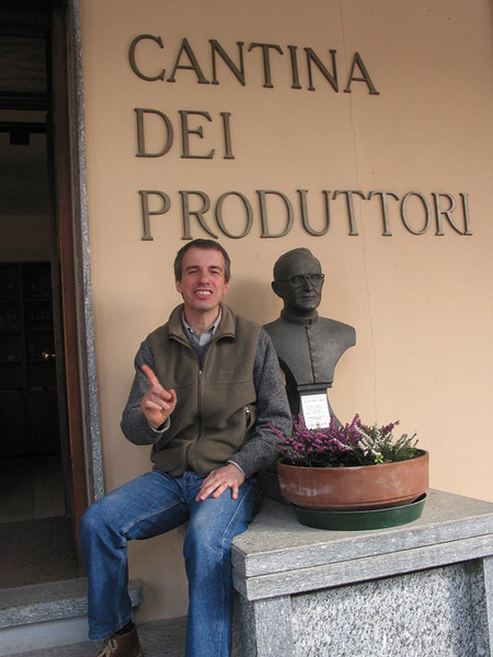 Aldo Vacca, wine maker in Barbaresco.