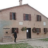 This house in a tiny village near Bussetto is the birthplace of Giuseppe Verdi, the famous opera composer.