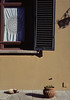 """""""Four Corners"""", at the Seventh-Day Adventist school where we lived in Florence. This is one of my photos that breaks one of the main rules of composition, yet I love how it came out."""